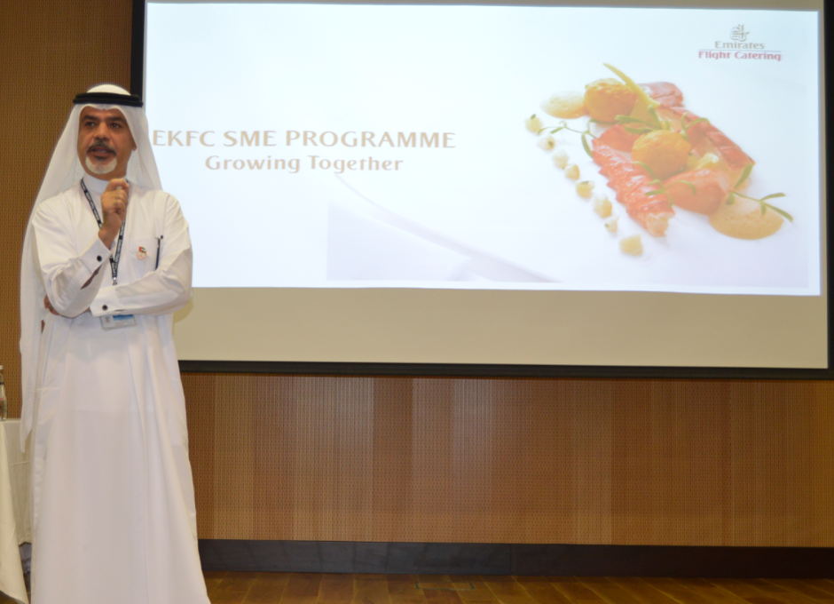 Saeed Mohammed, CEO of Emirates Flight Catering